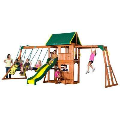 Prairie Ridge All Cedar Swing Set