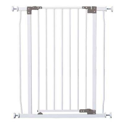 36.5 in. H Liberty Extra Tall Auto Close with Stay Open Feature Security Gate