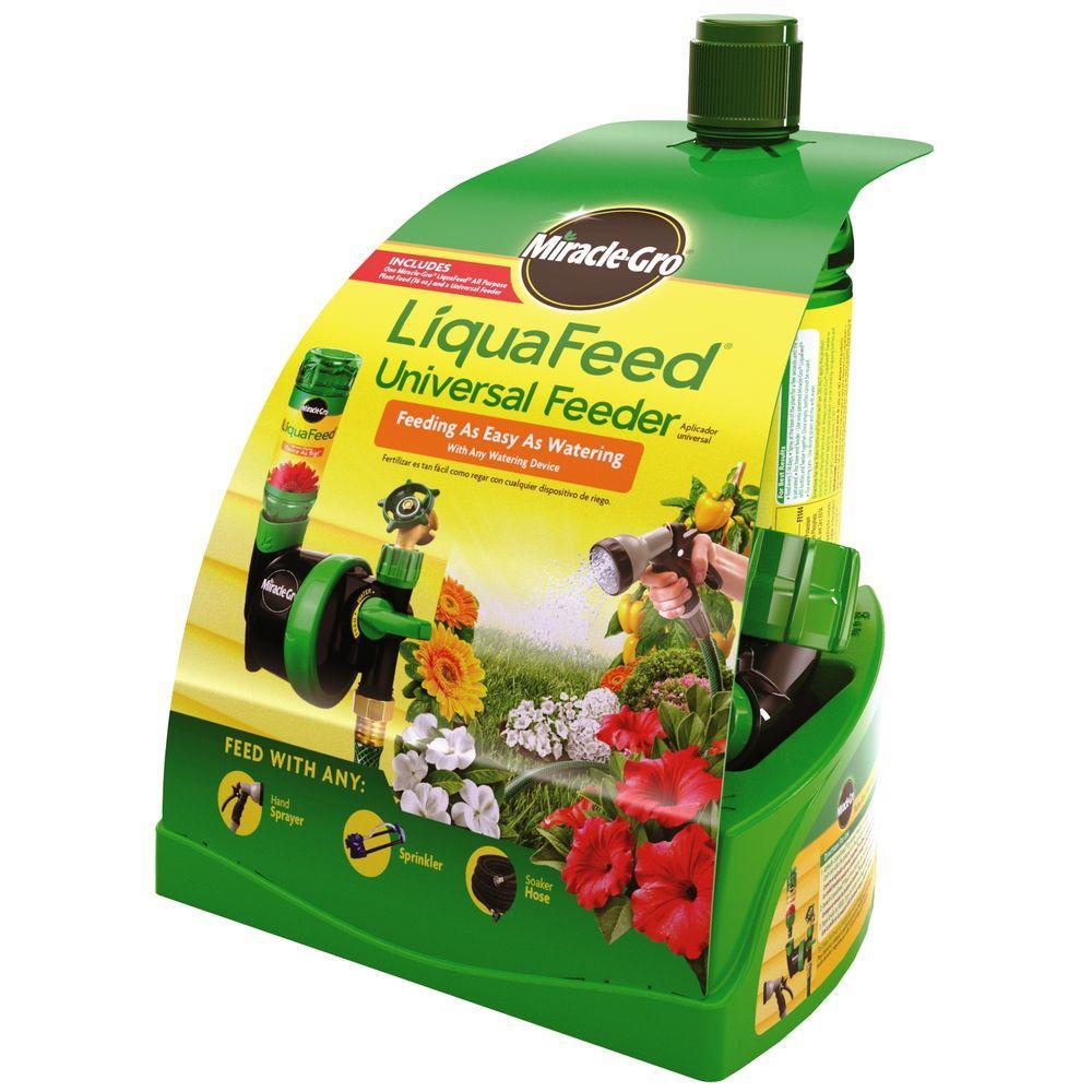 MiracleGro Miracle-Gro LiquaFeed 16 oz. Universal Feeder Starter Kit