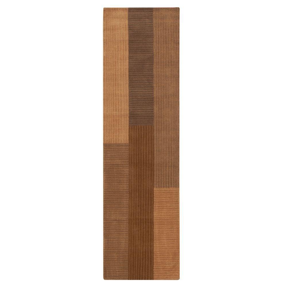 Home Decorators Collection Crete Beige 2 ft. 6 in. x 10 ft. Rug Runner