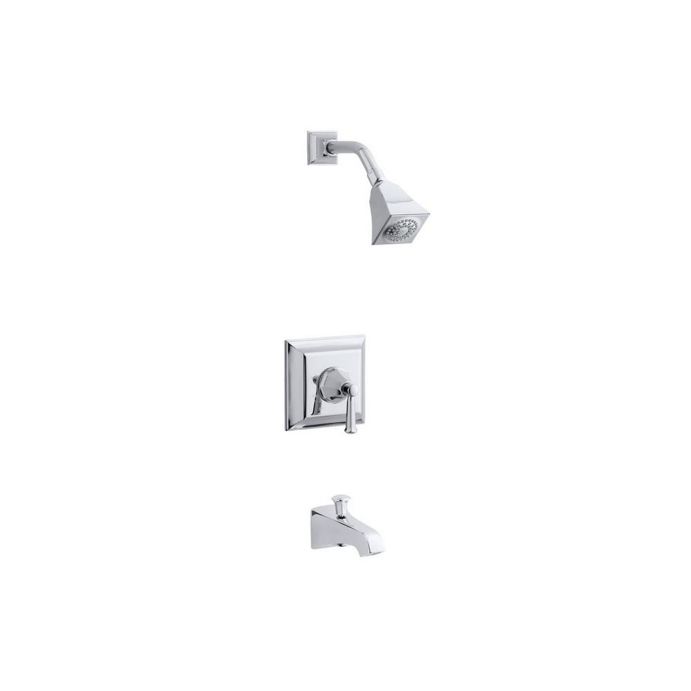 KOHLER Memoirs Stately 1-Handle Tub and Shower Faucet Trim Kit in ...
