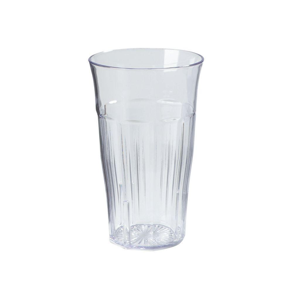 16 oz. SAN Plastic Tumbler in Clear (Case of 24)