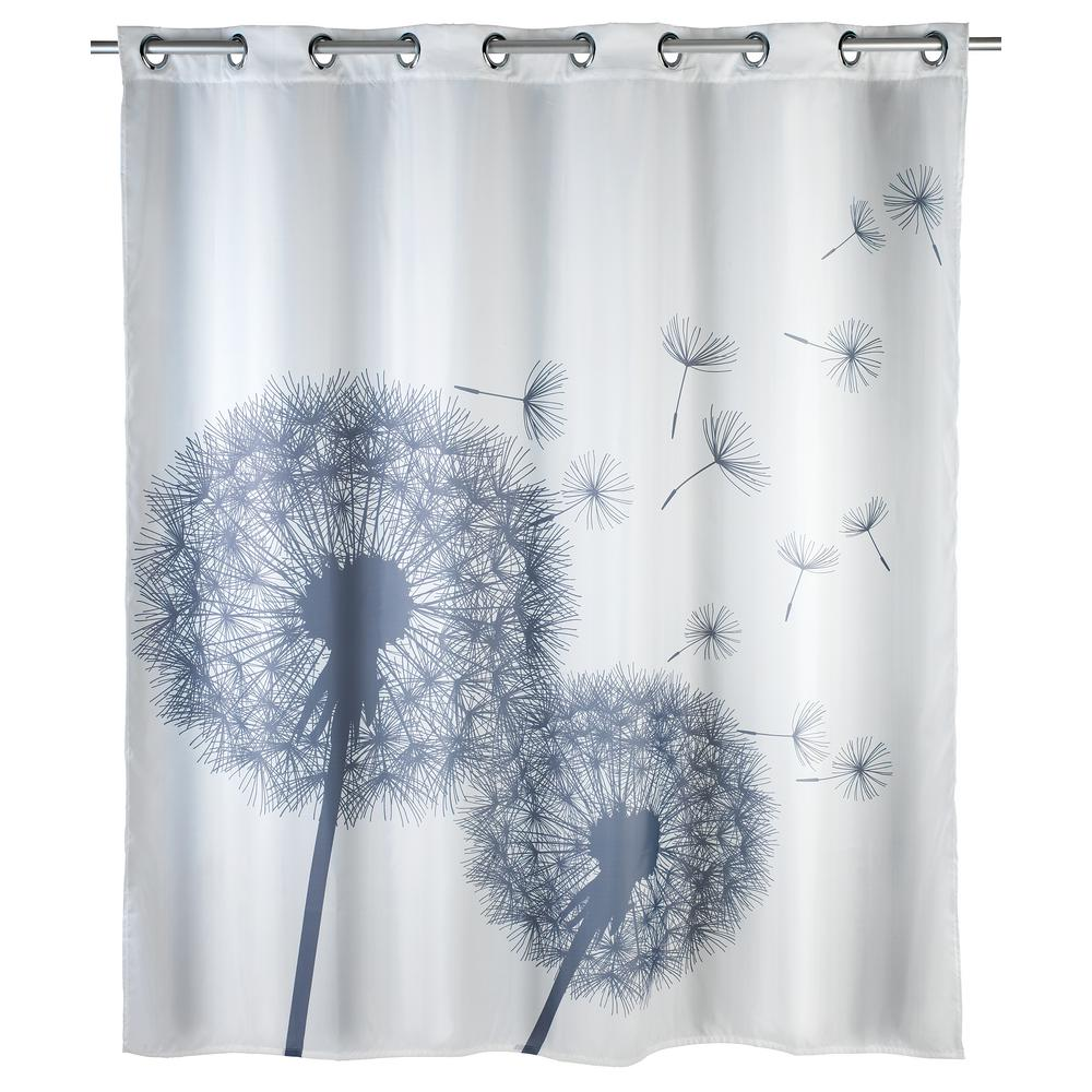 Wenko Astera Flex Anti Mildew Shower Curtain Polyester