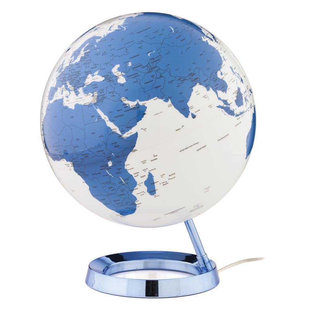Light and Color 12 in. Hot Blue Designer Series Desktop Globe