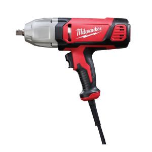 Milwaukee 1/2 inch Impact Wrench with Rocker Switch and Detent Pin Socket Retention by Milwaukee