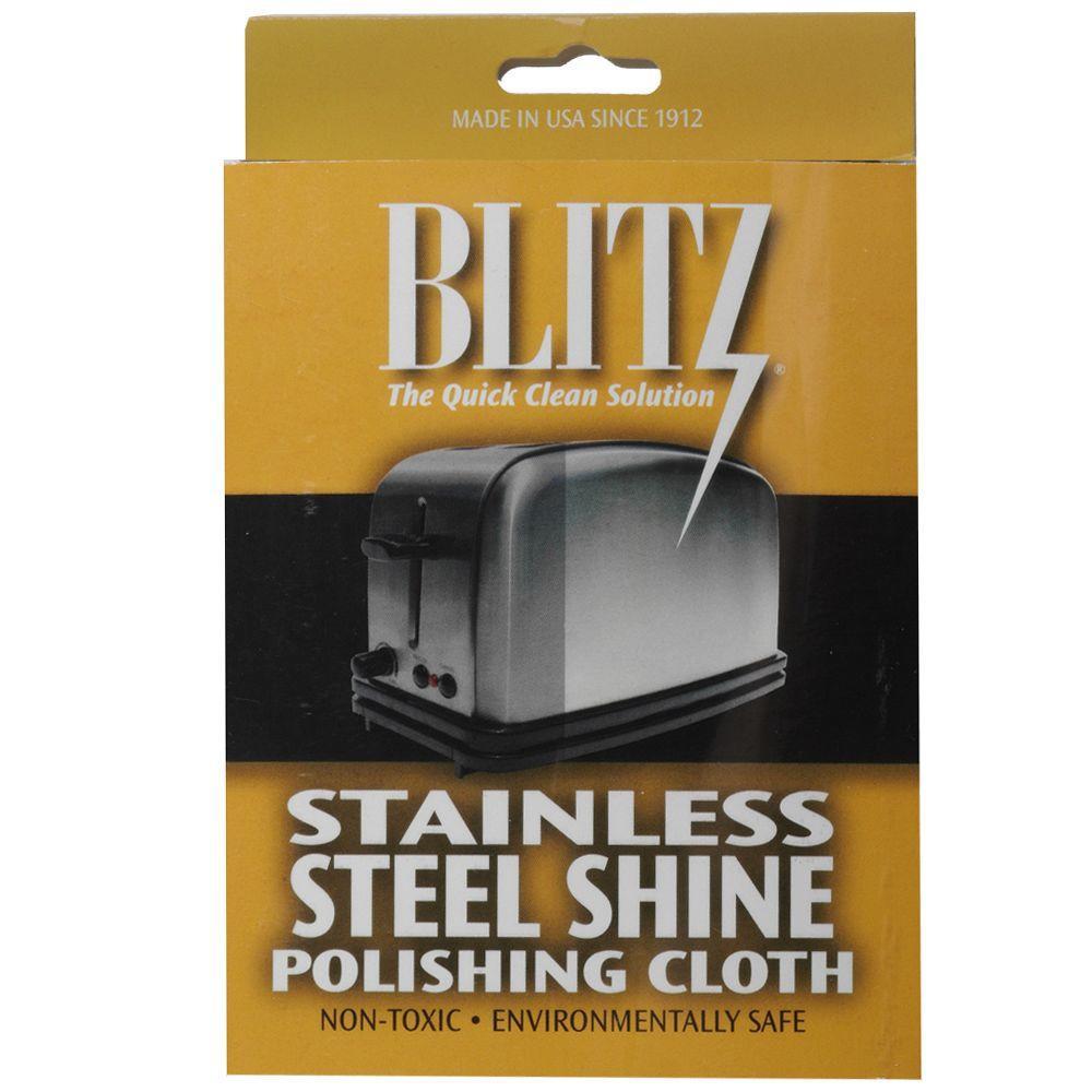 Blitz Stainless Steel Polishing Cloth