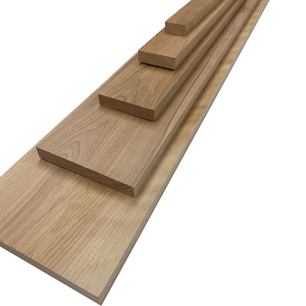 Swaner Hardwood Birch Board (Common: 1 in. x 3 in. x R/L; Actual: 0.75 in. x 2.5 in. x R/L)