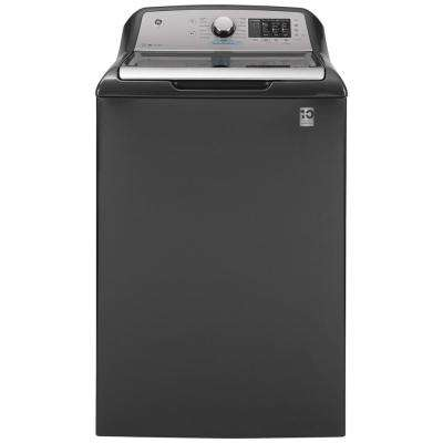 4.6 cu. ft. High-Efficiency Diamond Gray Top Load Washing Machine with FlexDispense and Sanitize with Oxi, ENERGY STAR