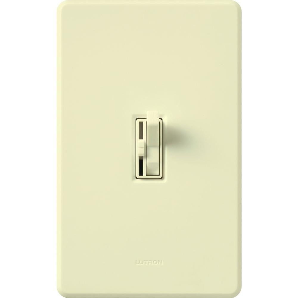 contemporary fan control 3-way rocker// slide fan control switch Lutron
