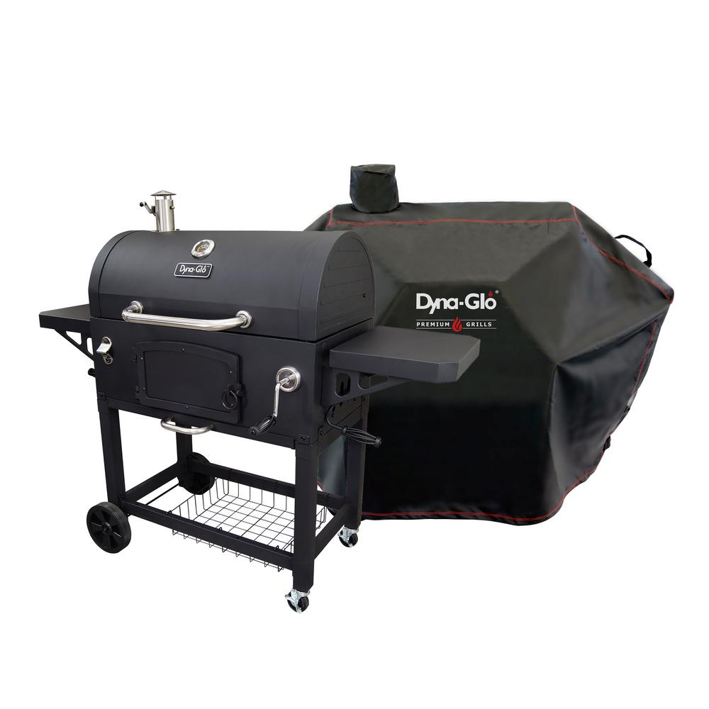 Dyna Glo Premium Charcoal Grill In Black With Cover Dgn576dnc Dc