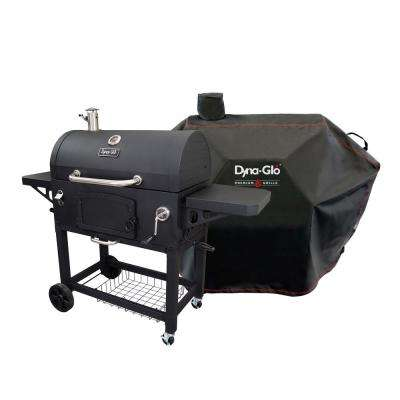 Premium Charcoal Grill in Black with Cover