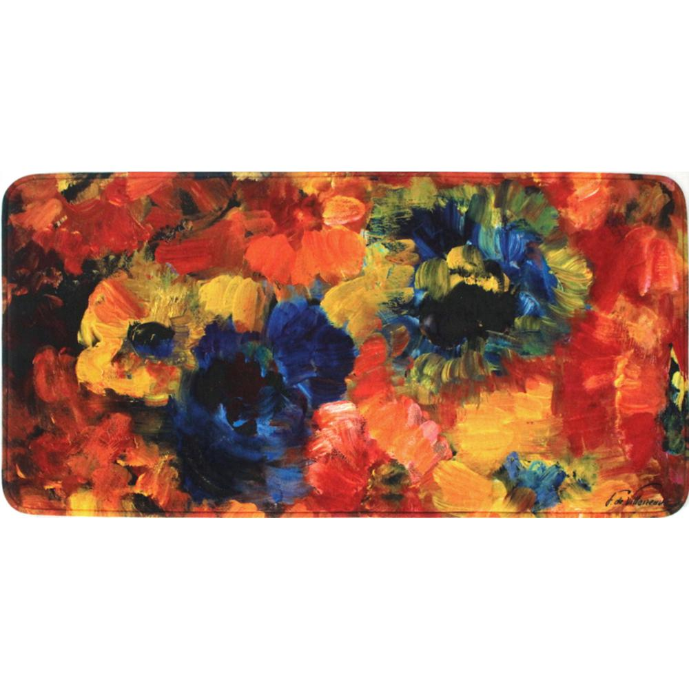 Home Dynamix Relaxed Chef 19.6 In. X 39.3 In. Anti Fatigue Kitchen Mat