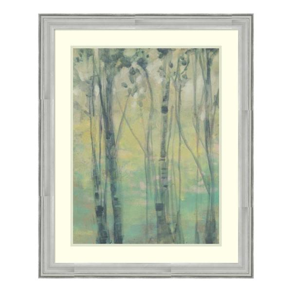 Amanti Art 26 in. W x 32 in. H 'The Light in the Trees I' by Jennifer Goldberger Printed Framed Wall Art