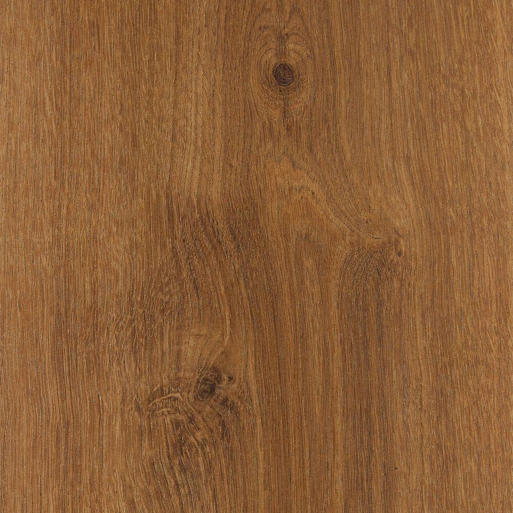Trafficmaster Embossed Hillside Oak 8 Mm Thick X 7 3/5 In. Wide X 47 7/8 In. Length Laminate Flooring (20.20 Sq. Ft. / Case), Light