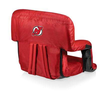 New Jersey Devils Red Portable Reclining Stadium Seat