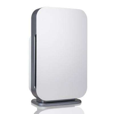 Customizable Air Purifier with HEPA-Pure Filter to Remove Allergies and Dust in White
