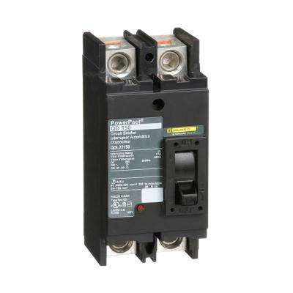 PowerPact 150 Amp Q-Frame Molded Case 2-Pole Circuit Breaker