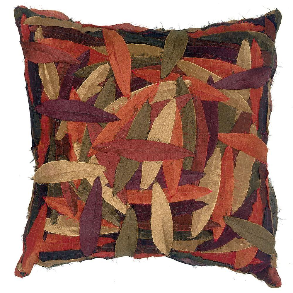 LR Resources Pillow-Collector Zanthia 18 in. x 18 in. Square Decorative Pillow (2-Pack)