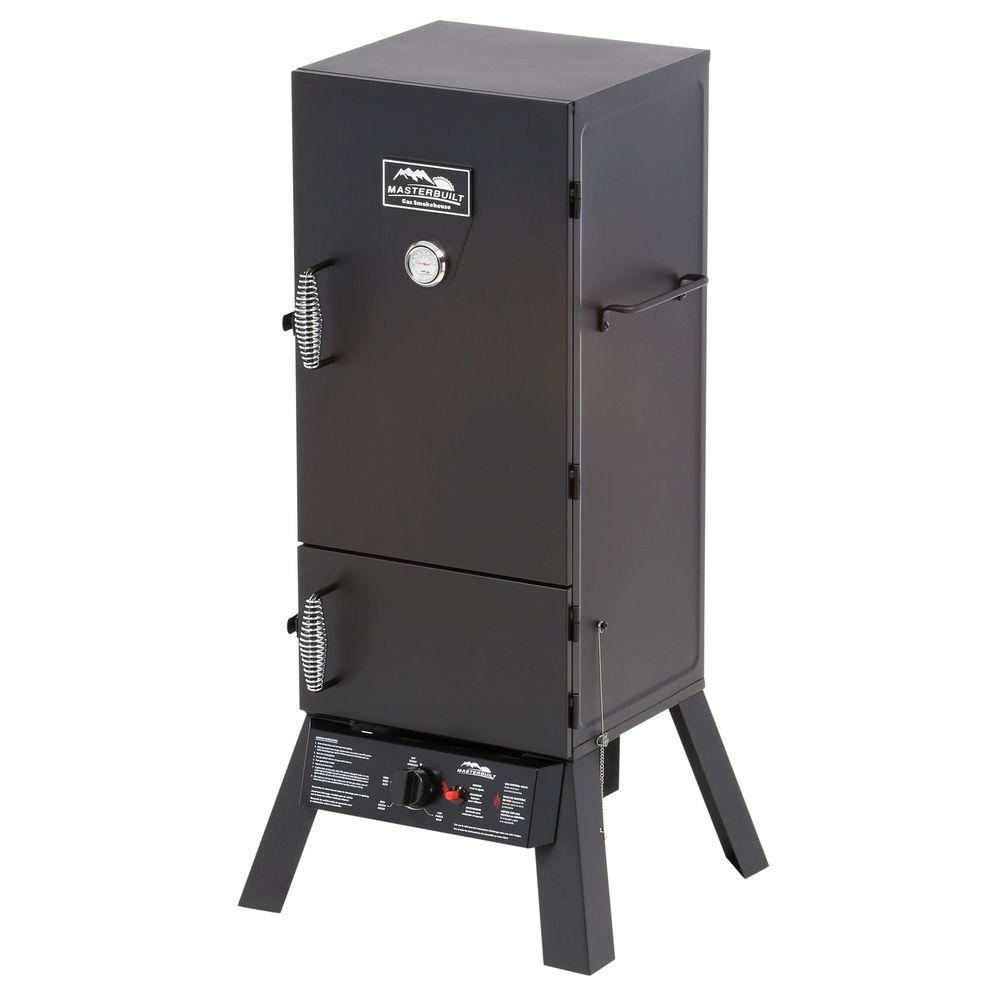 Masterbuilt 30 in. Dual-Door Propane Gas Smoker
