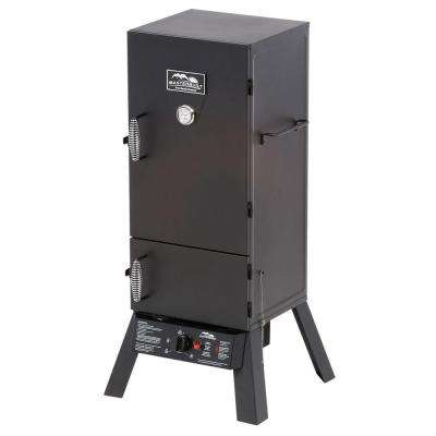 30 in. Dual-Door Propane Gas Smoker