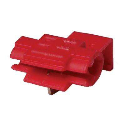 22-18 AWG Red Tap Splice Wire Connectors (5-Pack) Case of 5