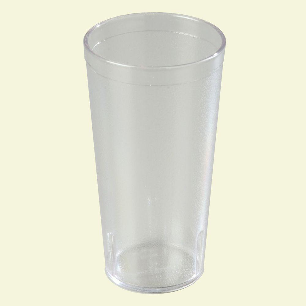 Carlisle 20 oz. SAN Plastic Stackable Tumbler in Clear (C...