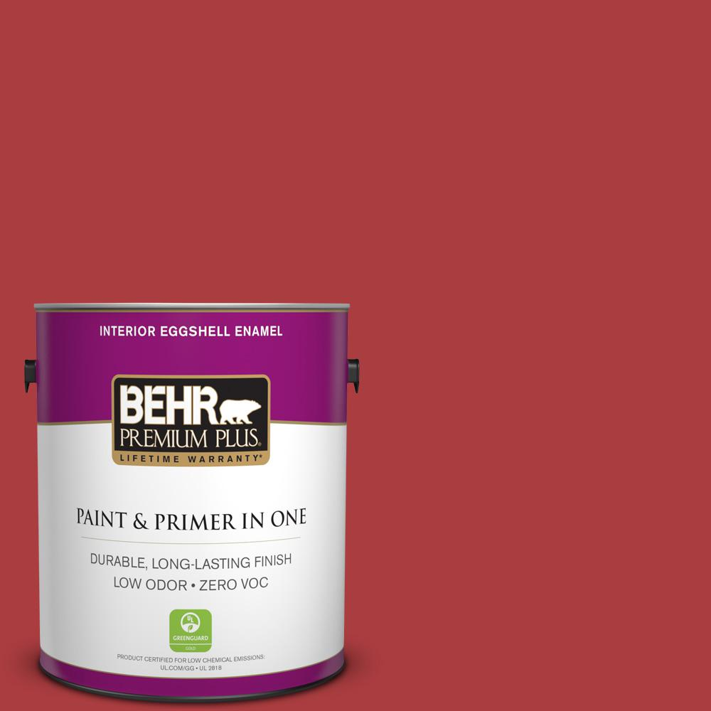 1 gal. #160B-7 Daredevil Eggshell Enamel Zero VOC Interior Paint and