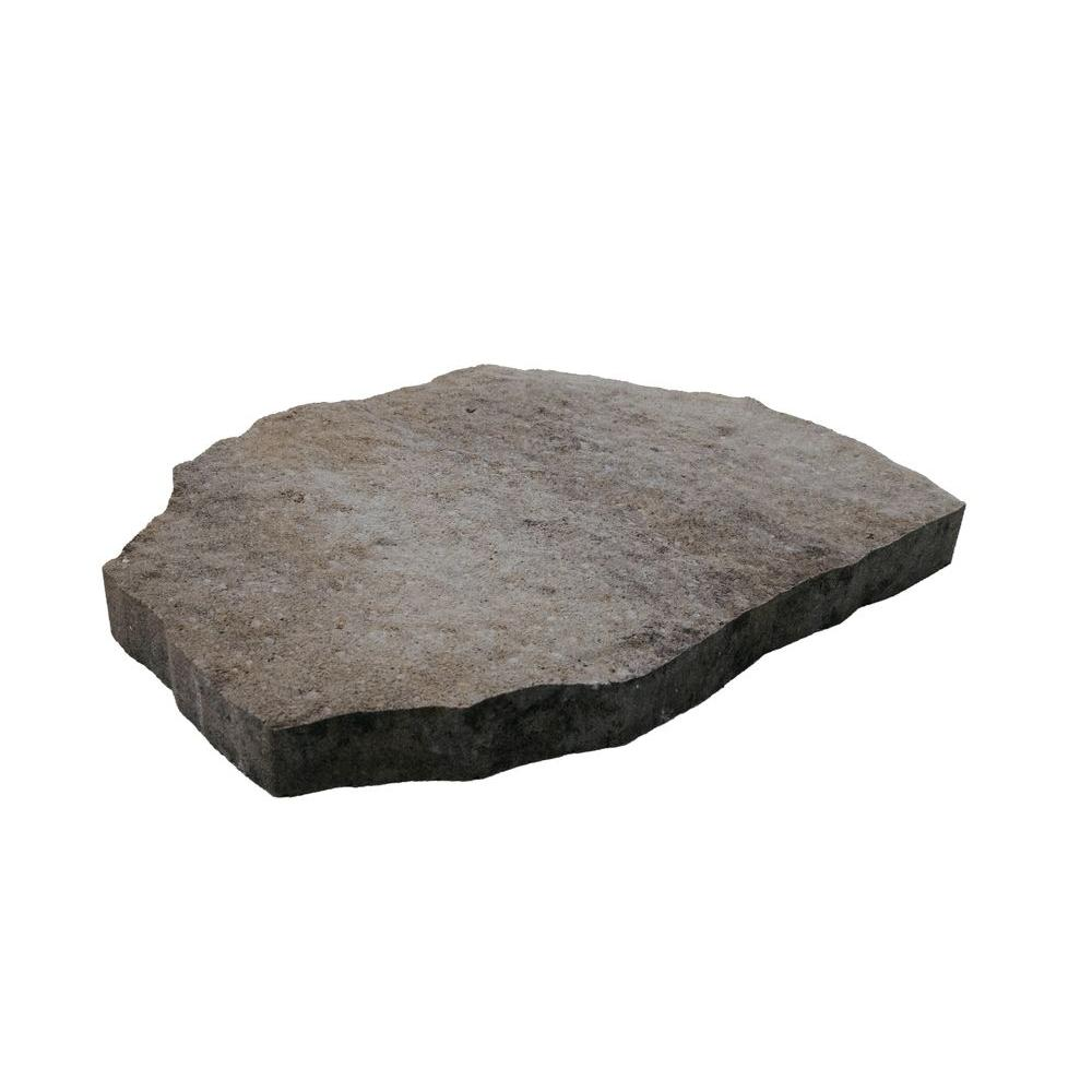 Oldcastle Epic Stone 18 in. x 24 in. Silex Gray Concrete Step Stone (56 Pieces / 165 sq. ft. / Pallet)