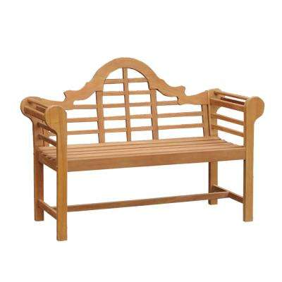 Isla 4 ft. Wood Outdoor Bench