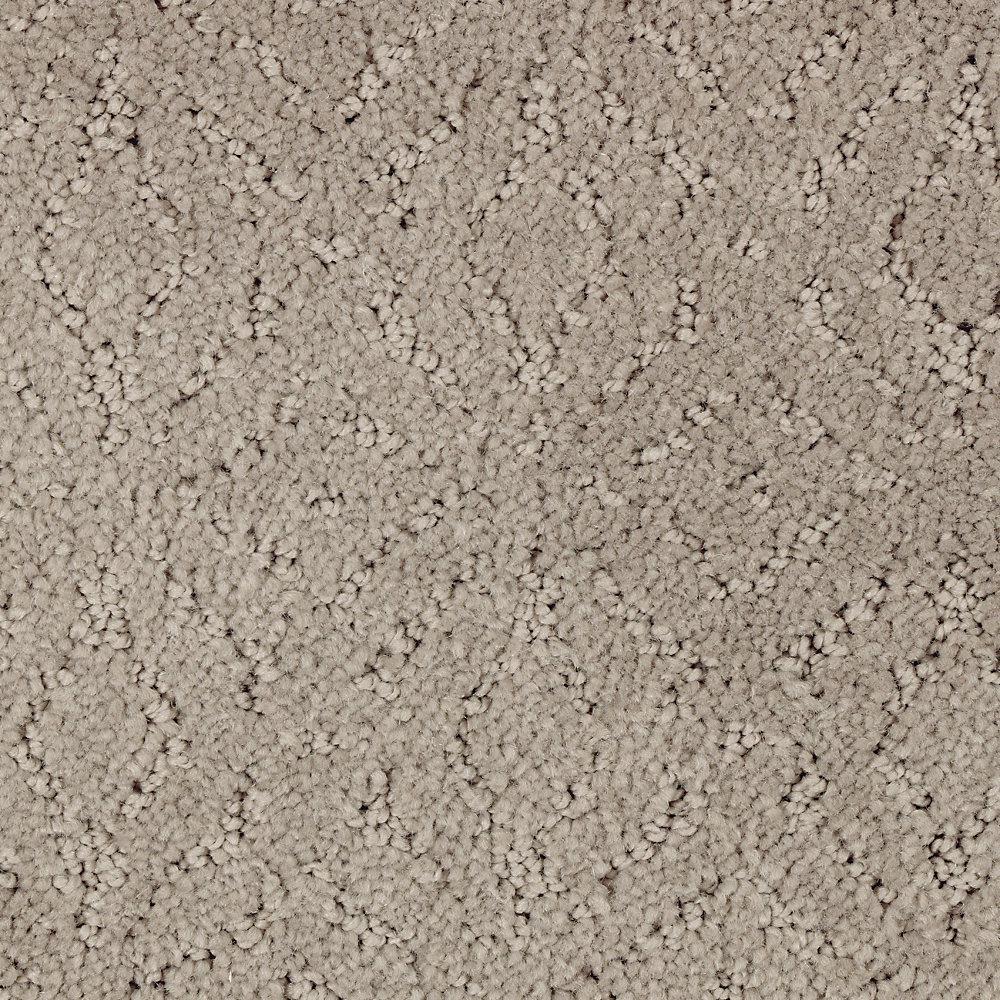 Carpet Sample - Oakleaf - Color Crossroads Pattern 8 in. x 8 in.
