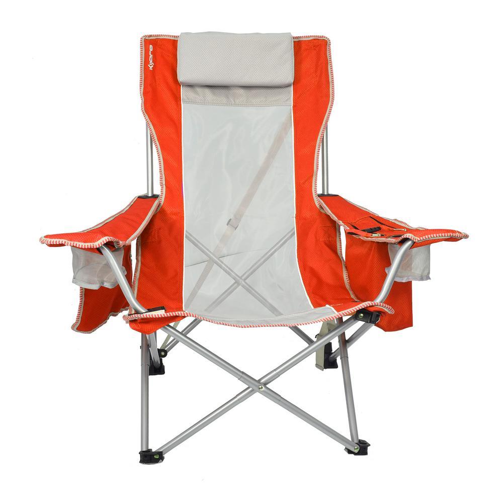 Kijaro Coast Fiji Sunset Orange Beach Sling Chair 54079