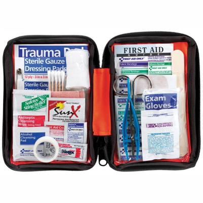 107-Piece First Aid Outdoor Kit (2-Pack)