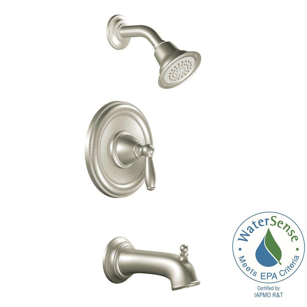 Brantford Single-Handle 1-Spray Posi-Temp Tub and Shower Faucet Trim Kit in