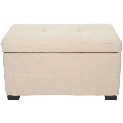 Maiden Taupe Storage Bench