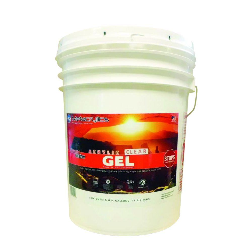 Metacrylics 5-gal. Clear Acrylic Gel Roof Patch