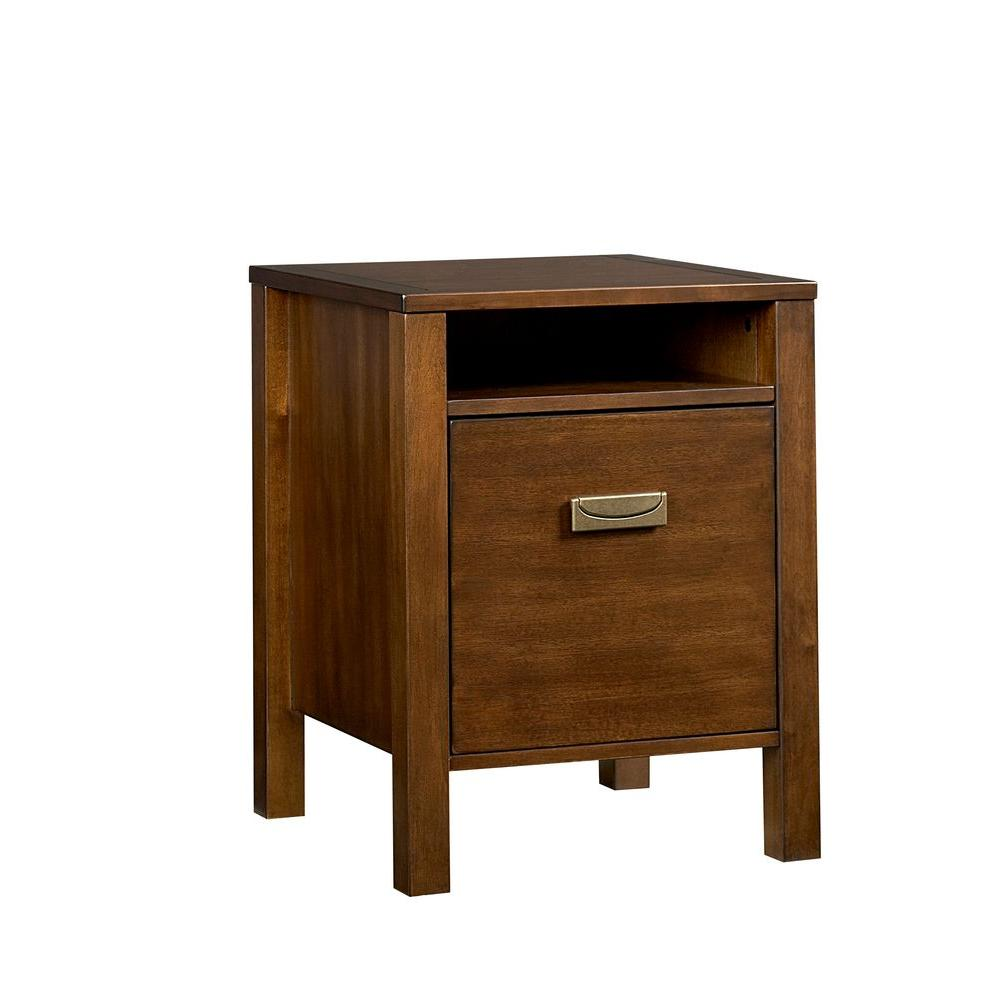 Inspirations by Broyhill Mission Nuevo 23 in. H x 18 in. W x 18 in. D 1-Drawer File Cabinet-DISCONTINUED
