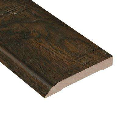 Distressed Lennox Hickory 1/2 in. Thick x 3-1/2 in. Wide x 94 in. Length Hardwood Wall Base Molding