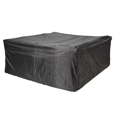 Plus Large 106 in. x 106 in. x 28 in. Square Dining Set Garden Patio Furniture Cover