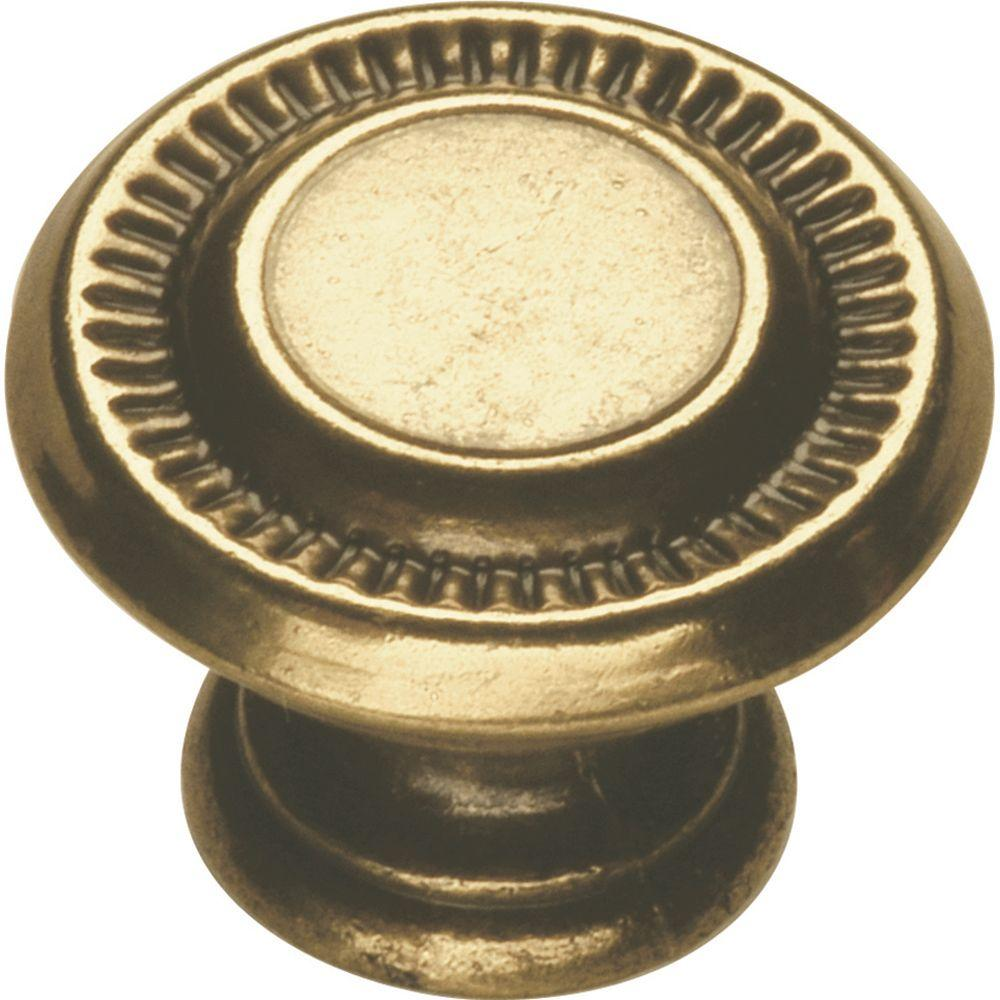 Hickory Hardware Manor House 1 in. Lancaster Hand Polished Knob