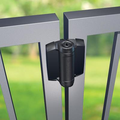D&D 4 in. Heavy Duty Spring Hinges for Metal Gates (2-Pack)