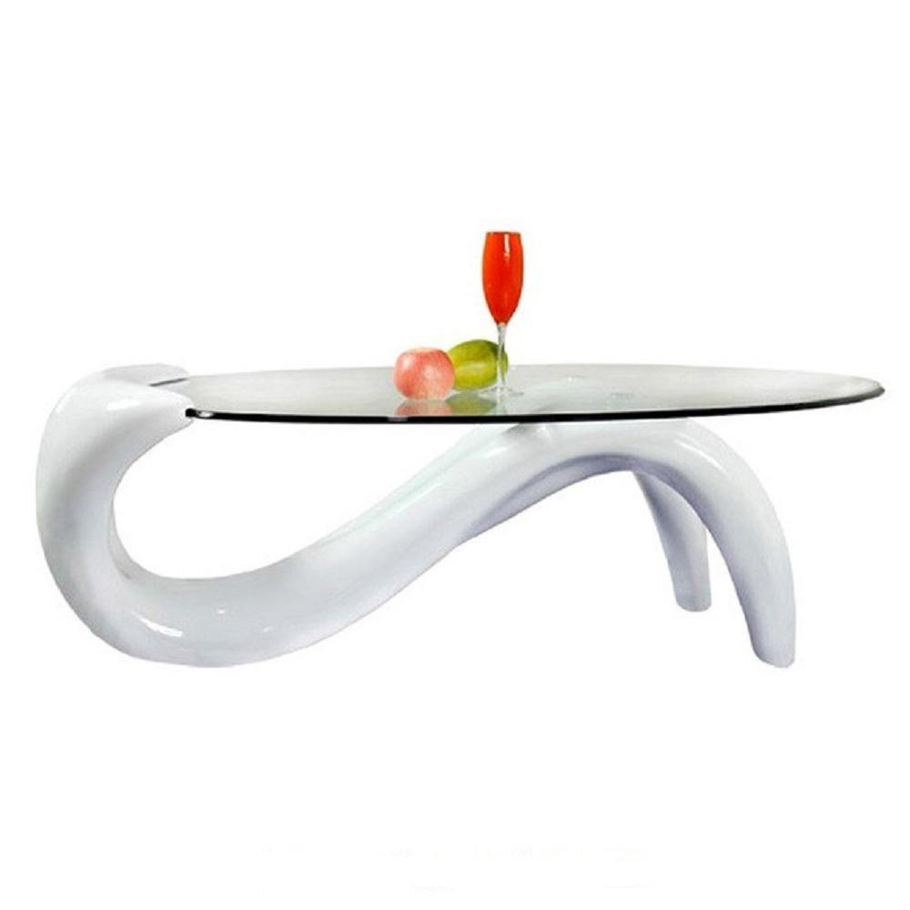 Modern Style White Mermaid Coffee Table