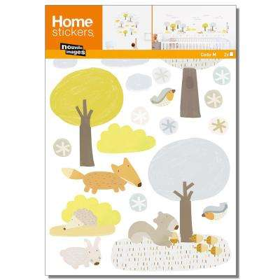Multicolor The Forest/Kids Home Sticker