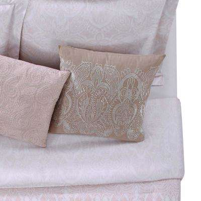 Ombre Lace Pink 18 in. Square Pillow