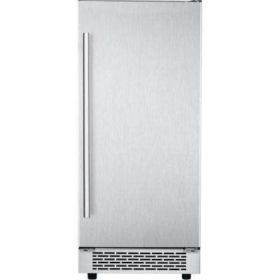 The Vault 32 lb. Built-In/Freestanding Ice Maker in Stainless Steel