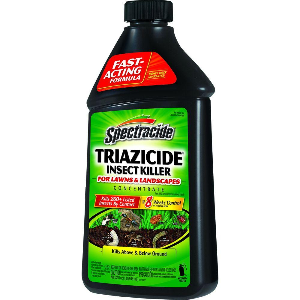 Spectracide Triazicide 32 fl. oz. Concentrate Lawn Insect Killer