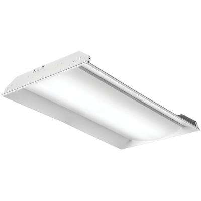 White led lithonia lighting commercial lighting lighting 2fsl4 40l ez1 lp840 4 ft white led architectural troffer mozeypictures Image collections