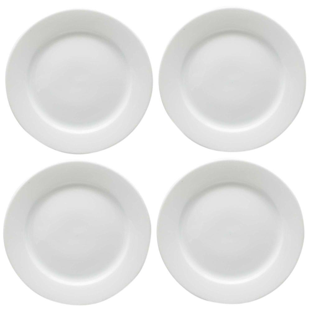 Tag Whiteware Dinner Plate (Set of 4)  sc 1 st  Home Depot & Tag Whiteware Dinner Plate (Set of 4)-TAG02195 - The Home Depot