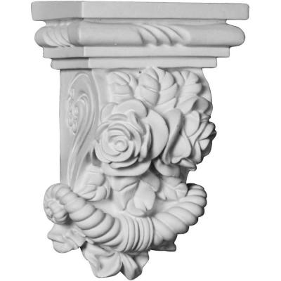 Ekena Millwork COR08X06X13LF-CASE-2 Corbel Factory Primed and Ready for Paint