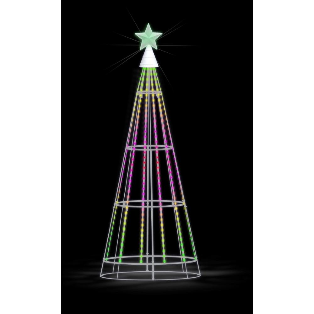 Showhome 66 In Show Tree With Multi Color Led Lights W10i0030 The