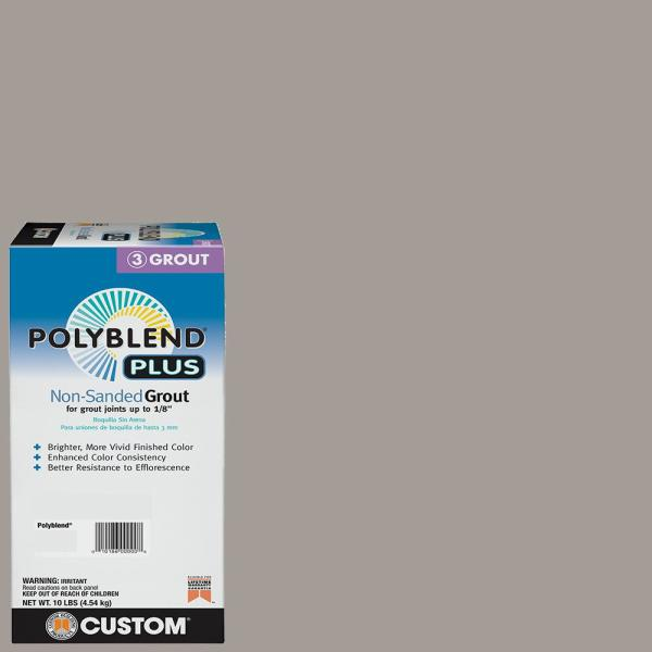 Polyblend Plus #542 Graystone 10 lb. Non-Sanded Grout